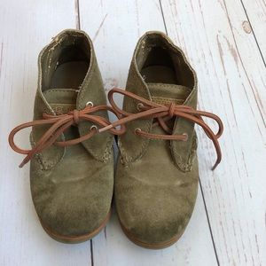 Sperry Top Sider Suede Leather Boy Shoes